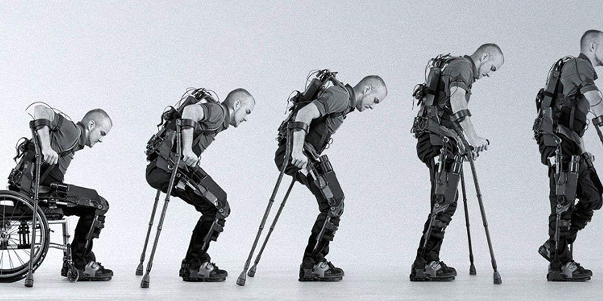 Պատերազմի վիրավորները կօտվեն «էկզոսկելետոն» աջակցող միջոցից