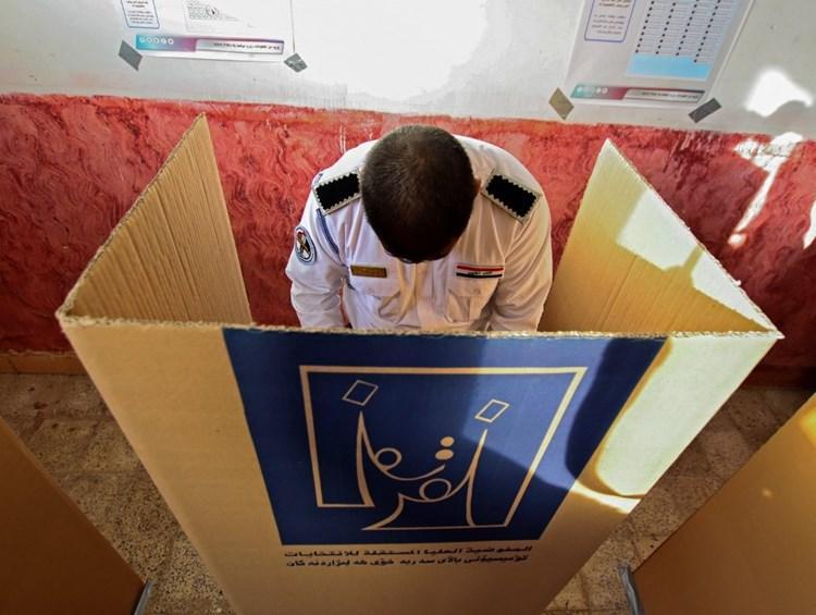 Իրաքի ընտրութիւնները այսօր ընթացք առին