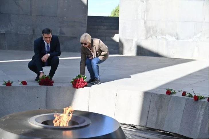 Հայաստանի եւ Ուքրանիոյ ՄԻՊ-երը Ծիծեռնակաբերդ այցելեցին